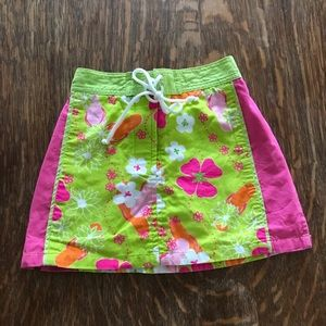 Lilly Pulitzer summer skirt size 3T